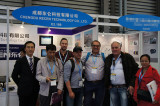 Clients visit our booth on Bauma Exihibition