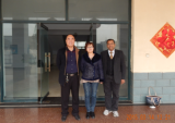 India customer come to China to visit the factory