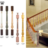Luxury Aluminum Stair Baluster