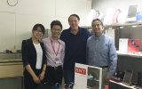 Photo with customers