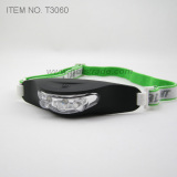 3 LED Silicon Rubber Case Headlight (T3060)