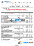 Protech Rubber Material Data Sheet