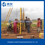 HF130 water well drilling rig construction in Nigeria