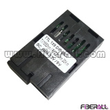 Fiberall supply special 1x9 fiber transceiver with low data rate, asymmetric speed rate or cwdm