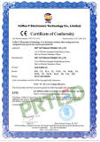 New certificate of CE-LVD