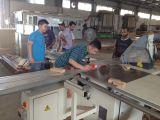 SLIDING TABLE SAW MACHINE UNDER SERVICE