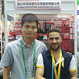 Baixinde Auto Parts on The 121th Canton Fair