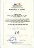 EC declaration of conformity of soil moistrue meter