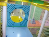 indoor playground real case spider panel