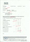 certificate for PVC material