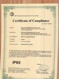 IP65 certification