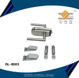 Stainless steel hinge and door lock