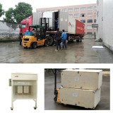 Deliver manual powder coating line to USA