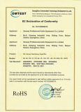 FB Series AMP RoHS Certification