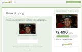 Donated to Mr. Demissew Bekele, Father of Camara in Ethiopia in Africa