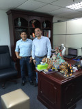 Philippines Client Visiting General Manager Jetton