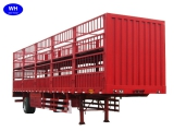 cargo transport semi trailer