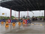 Henan checkpoint installed under vehicle inspection system for security