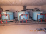 COMMERCIAL SAND FILTER in MACHINE HOUSE