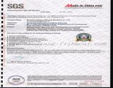 SGS certificate for fishmeal production line