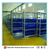 China Good Quality Popular Boltless Light Duty Metal Rack Concealed Post Shelving Racking