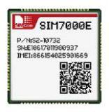 4G NB-LOT module SIM7000E