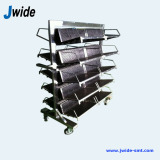 Antistatic PCB storage rack trolley