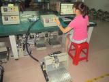 CNC Router Inspecting