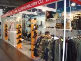 Liren military boots Trade show