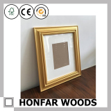5/26 Gold Wooden Photo Frame