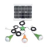sunrise solar lighting kit 15w solar portable home lighting with bracket 3lamps