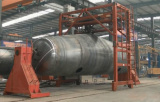 Welding process of tank