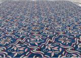Colorful Flower Handtufted Wool Carpet