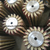 2014 new model sisal hemp and sand paper mixture brush for sand machine
