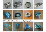 CNC Machined heat sink for car lighting system