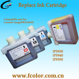 2017 New Ink Cartridge for Canon Ipf830 Ipf840 Ipf850 Printers