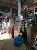Homogenizer vacuum emulsifying mixer installation