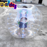 Free shpping inflatable Kides soccer bubble ball