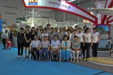Jiamei attends the 32th China Sport Show