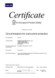 INTERTEK SEMKO CERTIFICATES FOR EUROPEAN PRODUCT SAFETY