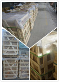 Stone packing with pallet