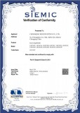 Updated CE Certification