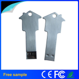 house key shaped metal usb flash memory stick