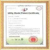 Utilty Model Patent Certificate