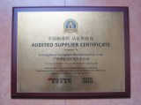 Audited Suppliers