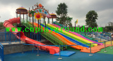 outdoor playground equipment project in Guangzhou city park