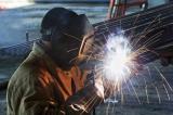 FLM welder in welding process