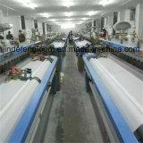 Running loom in customers′ factory