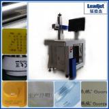 Industrial fast speed wood glass meta Co2 laser date printer factory