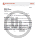 UL Certificate